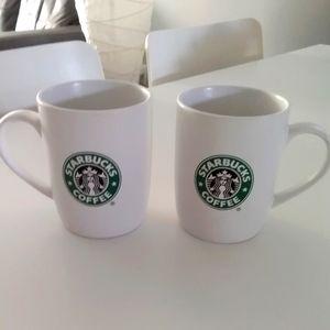 Vintage (1990) Starbucks Mugs (Pair)